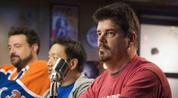 Mike Zapcic gets some cred for 15 years of services on this Season of Comic Book Men - Photo Credit: David E. Steele/AMC