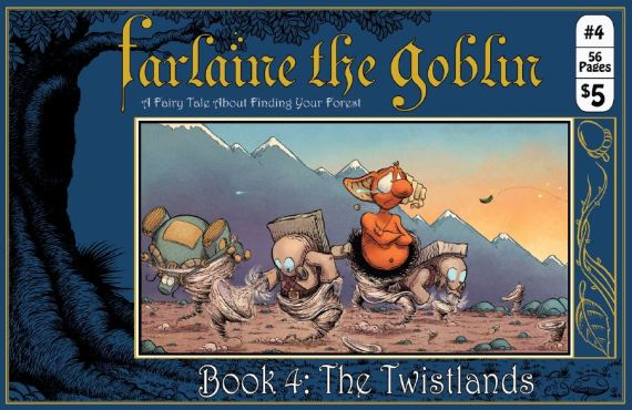 Farlaine the Goblin: Books 1 to 4 are now available.