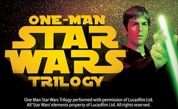 Will this One Man Star Wars cause a disturbance in the Force? Find out this Friday.
