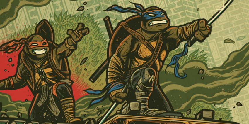 This Week's Episode of Geek Hard (06-03-2016): Fine Art and Mutant Turtles with Kevin Hanchard
