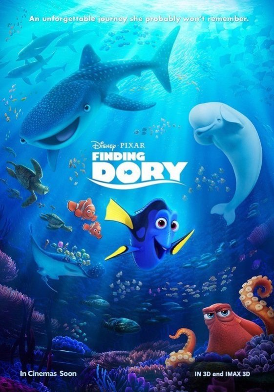 Will Finding Dory be worth the journey to the theatre? Find out this Friday.