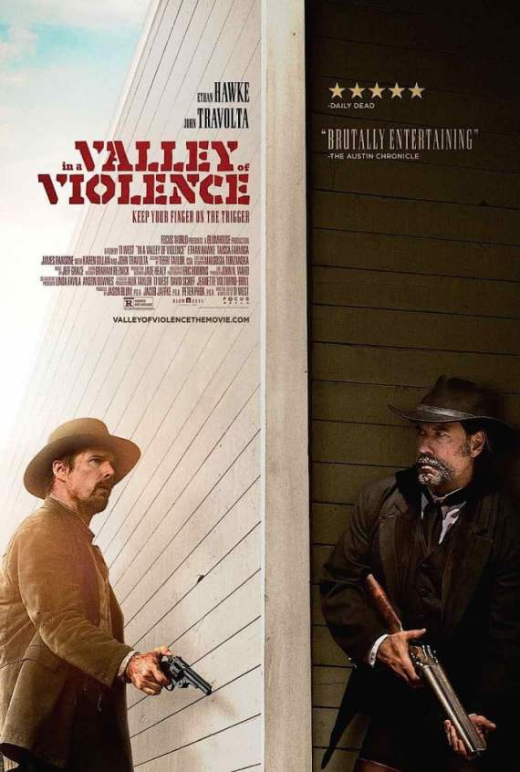 In A Valley of Violence pays tribute to the Spaghetti Western while also being a send up of the genre.