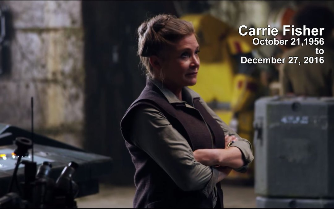 Good Bye Carrie Fisher