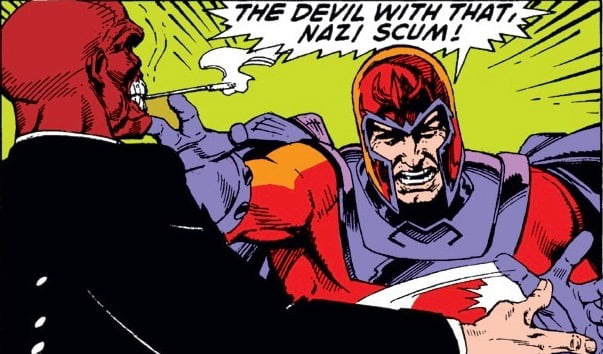 Fear and Loathing in Geekdom: Magneto vs. Red Skull