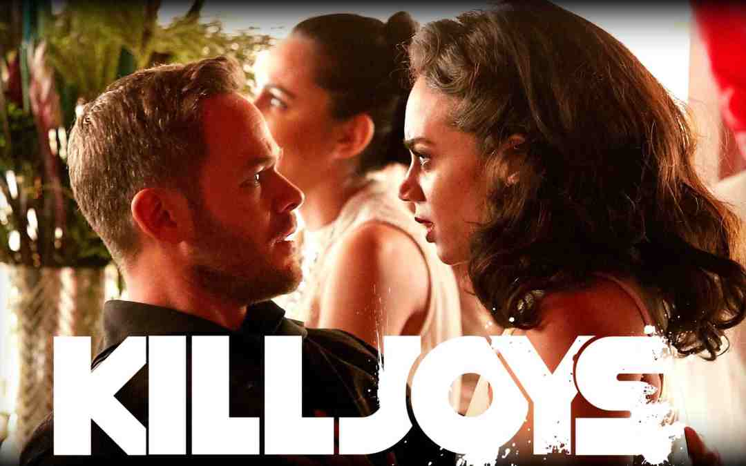 This Week's Episode of Geek Hard (07-20-2018): Killjoys vs. Raccoons! with Aaron Ashmore, Luke MacFarlane and Supinder Wraich