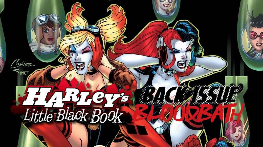 Back Issue Bloodbath Episode 166: Harley's Little Black Book