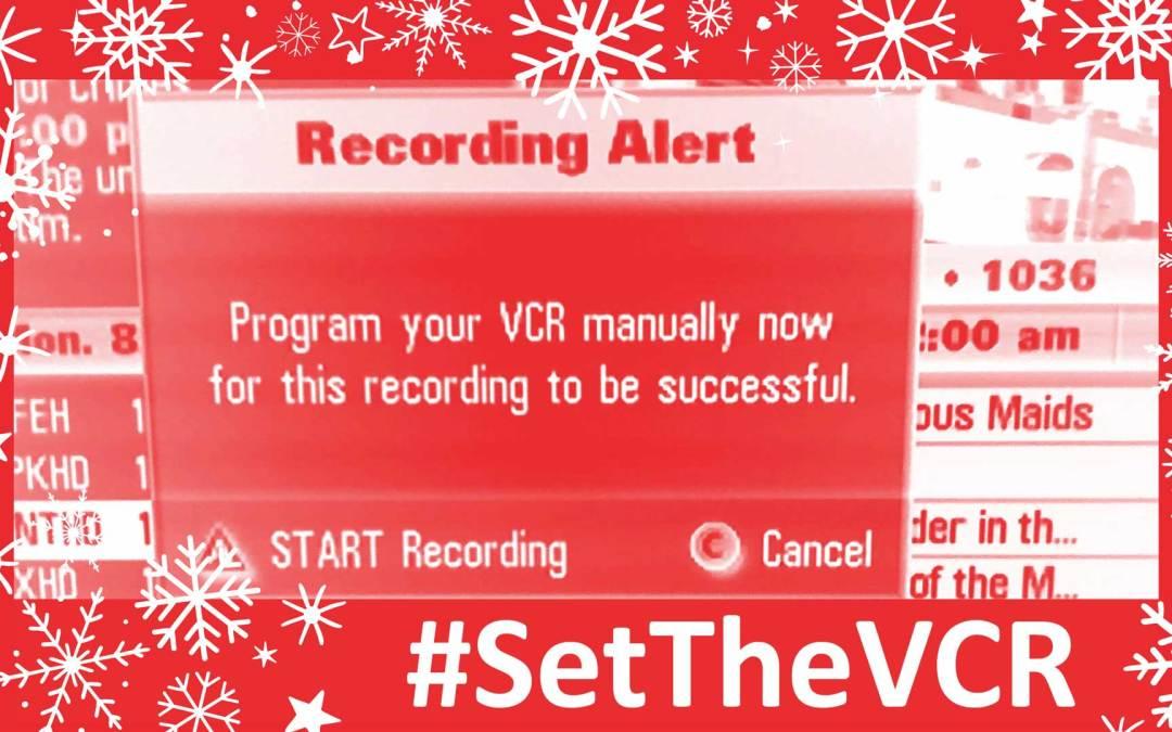 #SetTheVCR for the Week of December 23, 2018