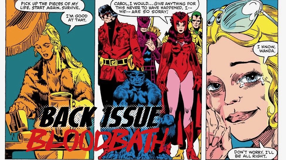 Back Issue Bloodbath Episode 205: Avengers Annual #10