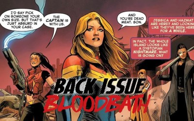Back Issue Bloodbath Episode 213: Captain Marvel by Thompson and Carnero