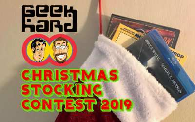 CONTEST TIME! The Geek Hard Christmas Stocking Contest 2019! (Updated with New Items!)