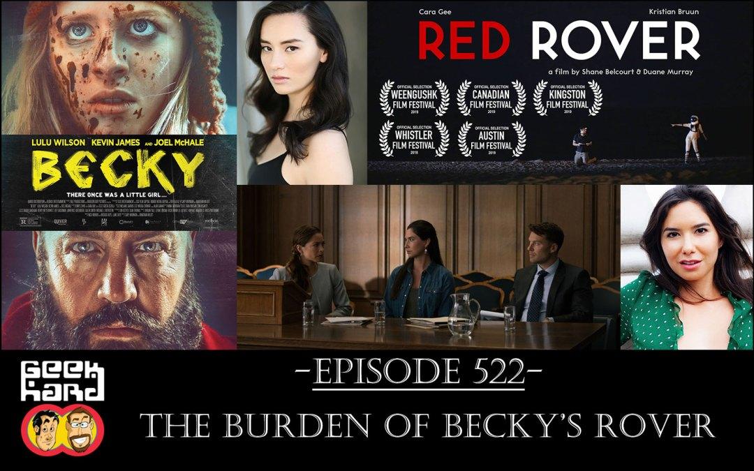 Geek Hard: Episode 522 – The Burden of Becky's Rover