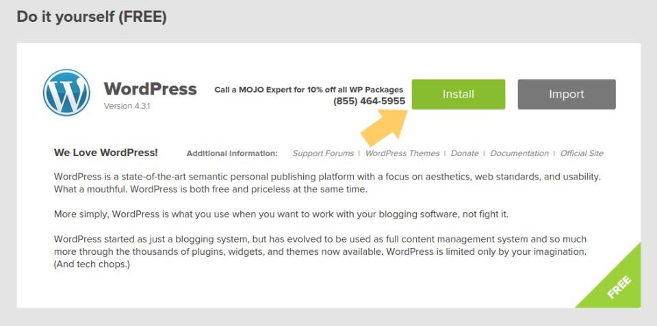 How to Install WordPress2