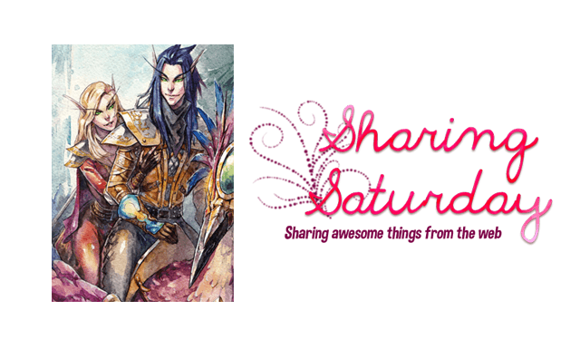 Sharing Saturday: World of Warcraft fanart - Couples