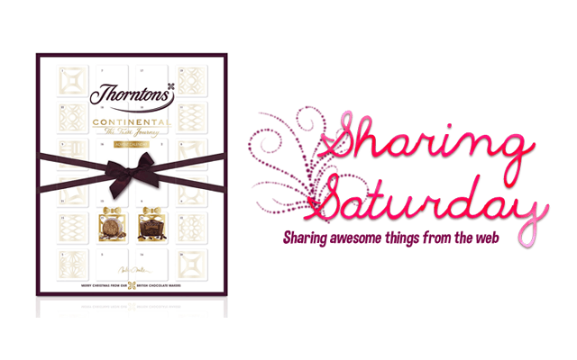Sharing Saturday: luxury chocolate advent calendars