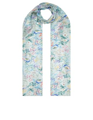 eclectic bloom scarf