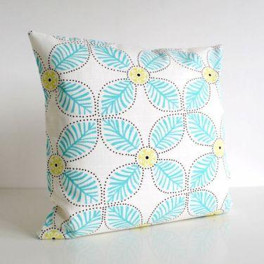windmill aqua cushion cover