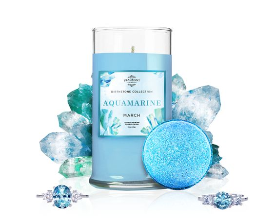 fragrant jewels march birthstone set