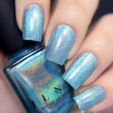 nails aria sky blue