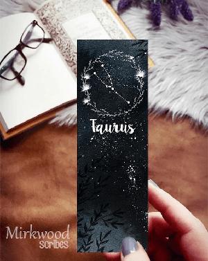 Taurus Zodiac Bookmark
