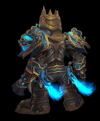 Stormlord, Bringer of Destruction Transmog Set - Back View Sheathed