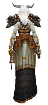 Libra: Goddess of Justice Transmog set - Back View