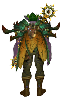 Living Wood Dragonfly Set [Druid] #TransmogTuesday