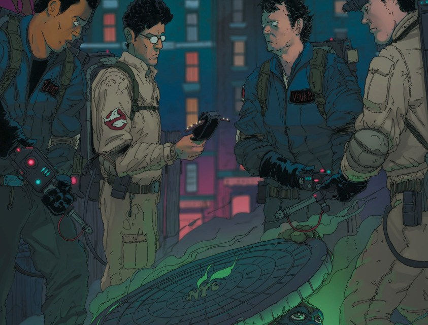 Halloween Special: Teenage Mutant Ninja Turtles / Ghostbusters #1