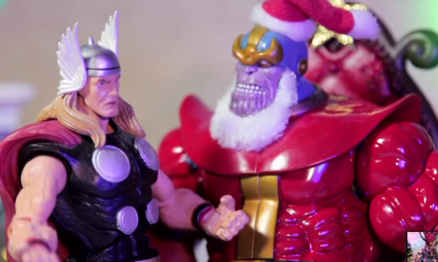 Thanos Poses as Santa Claus in Marvel's 'Holiday Spectacular 2014 – Marvel Super Heroes: What The–?! Ep 38'