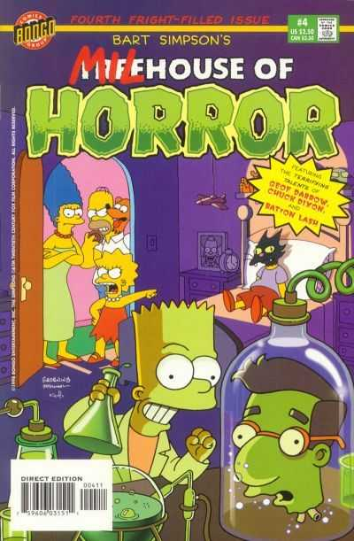 Comic Book Review: Christmas Special: Bart Simpson's Treehouse of Horror #4