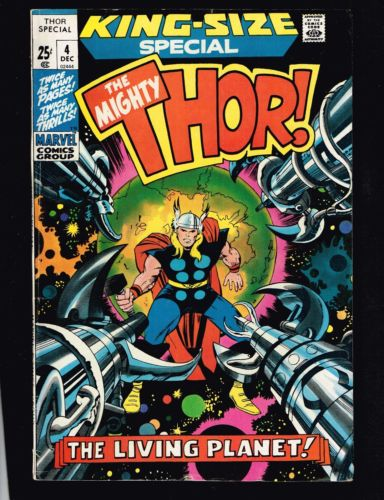 Throw Back THORsday Fangirl Time: The Mighty Thor! The Living Planet!