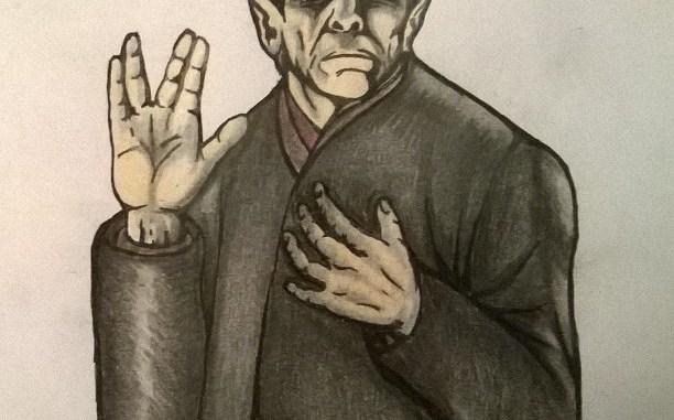 Leonard Nimoy as Spock by Shawn Proctor