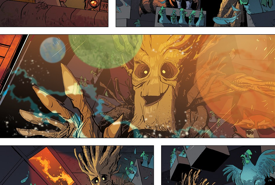 Groot's New Solo Series!