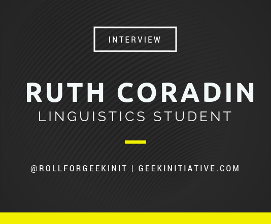 UMBC Student Talks Coding and Linguistics: Interview with Ruth Coradin