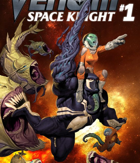 Comic Book Review: Marvel's Venom Space Knight #1