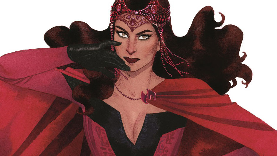 Comic Book Review: Marvel's Scarlet Witch #1