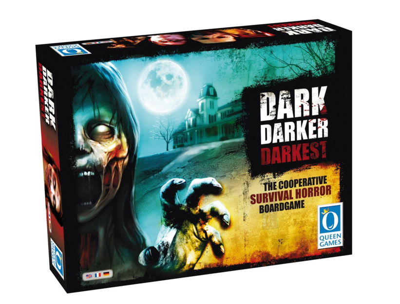 Board Game Review: Zombie Boredom With 'Dark Darker Darkest'