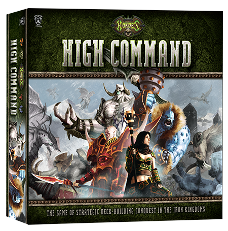 Review of 'Hordes: High Command,' A Quick-Playing Deck Builder Game