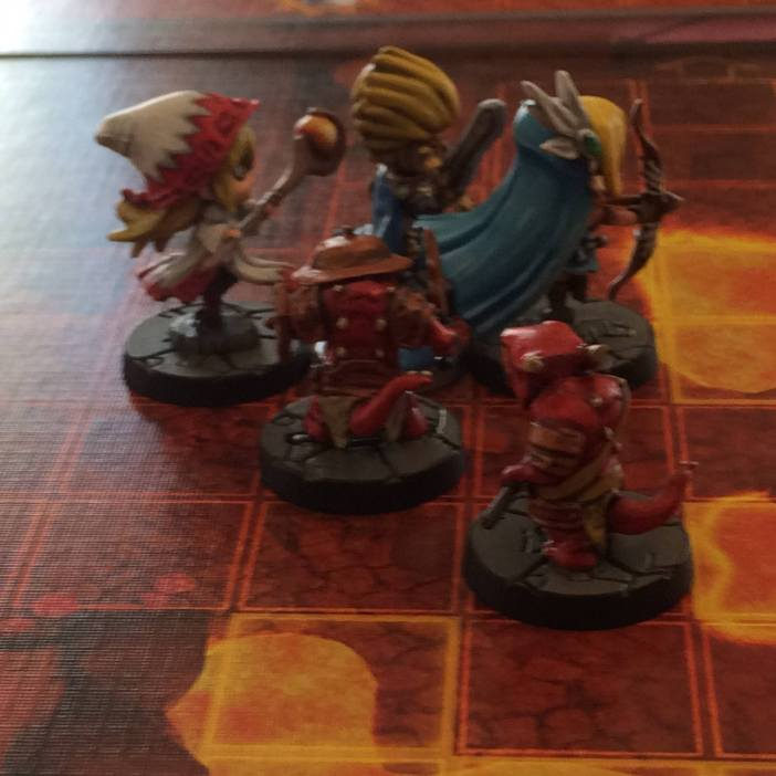 Super Dungeon Explore Minis