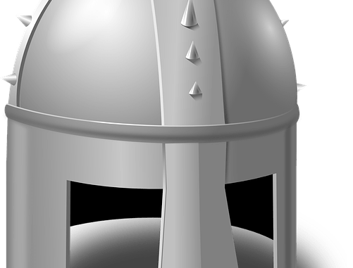 LARP armor helmet