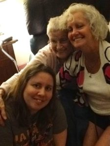 Me, Grammy, and Aunt Mindy