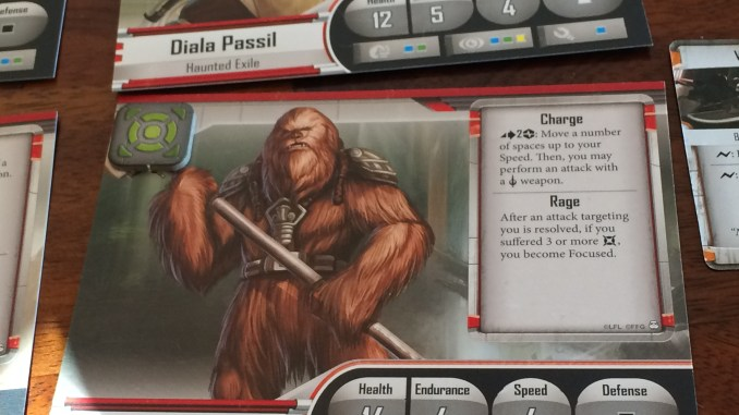 Imperial Assault Game Card