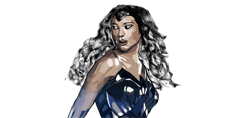 who was the second female superhero