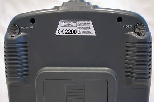 230Si Controller Back Buttons