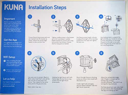 Kuna Installation How-To Guide