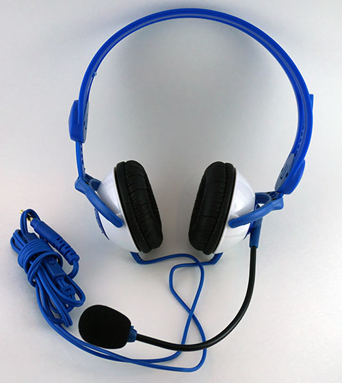 Kidz Gear Blue Headset for Kids