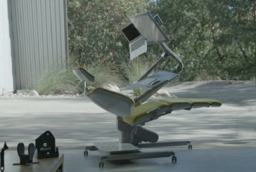 Move Over Sit-and-Stand Desks, Here's the Power Reclining Workstation