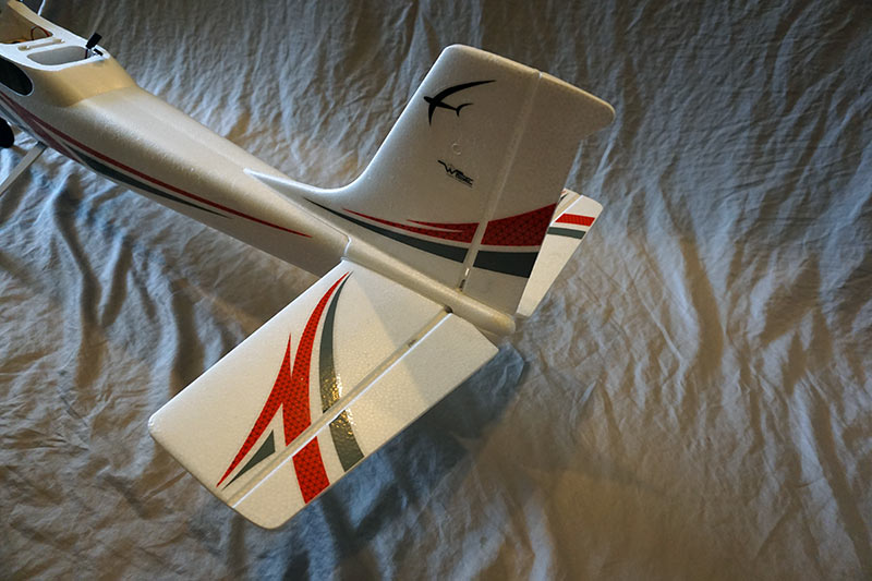 Flyzone Sensei RTF Electric RC Plane Tail Section