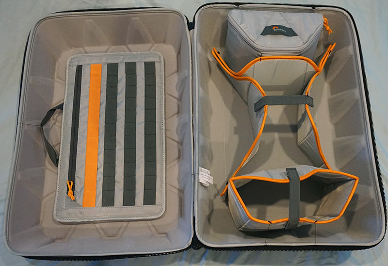 Lowepro CS 400 DroneGuard Soft/Hard Case - Inside