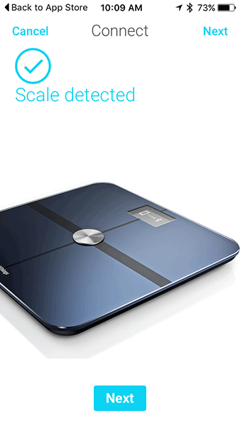 Withing Smart Scale - Health Mate iOS App