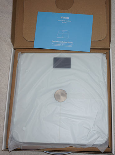 Withings Wifi Smart Body Analyzer Scale - Unboxed